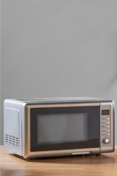 Rose Gold and Stainless Steel 20L Easitronic Microwave