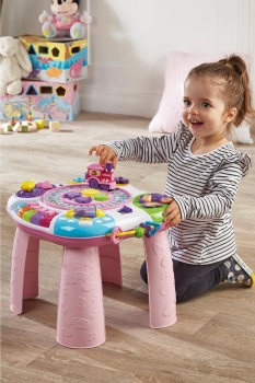 Pink 8-In-1 Activity Centre/Table