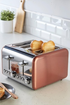 Classic Collection 4-Slice Toaster Rose Gold
