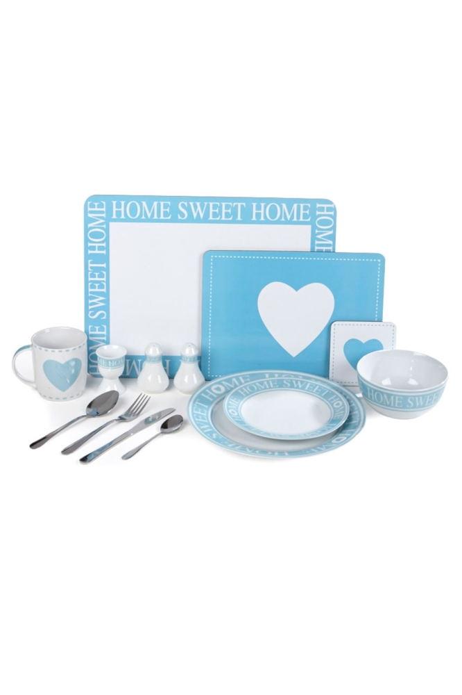 Duck Egg 70-Piece Home Sweet Home Combination Set