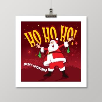 HO HO HO ! Christmas card