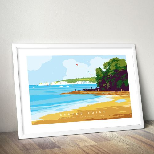 Studland Beach poster