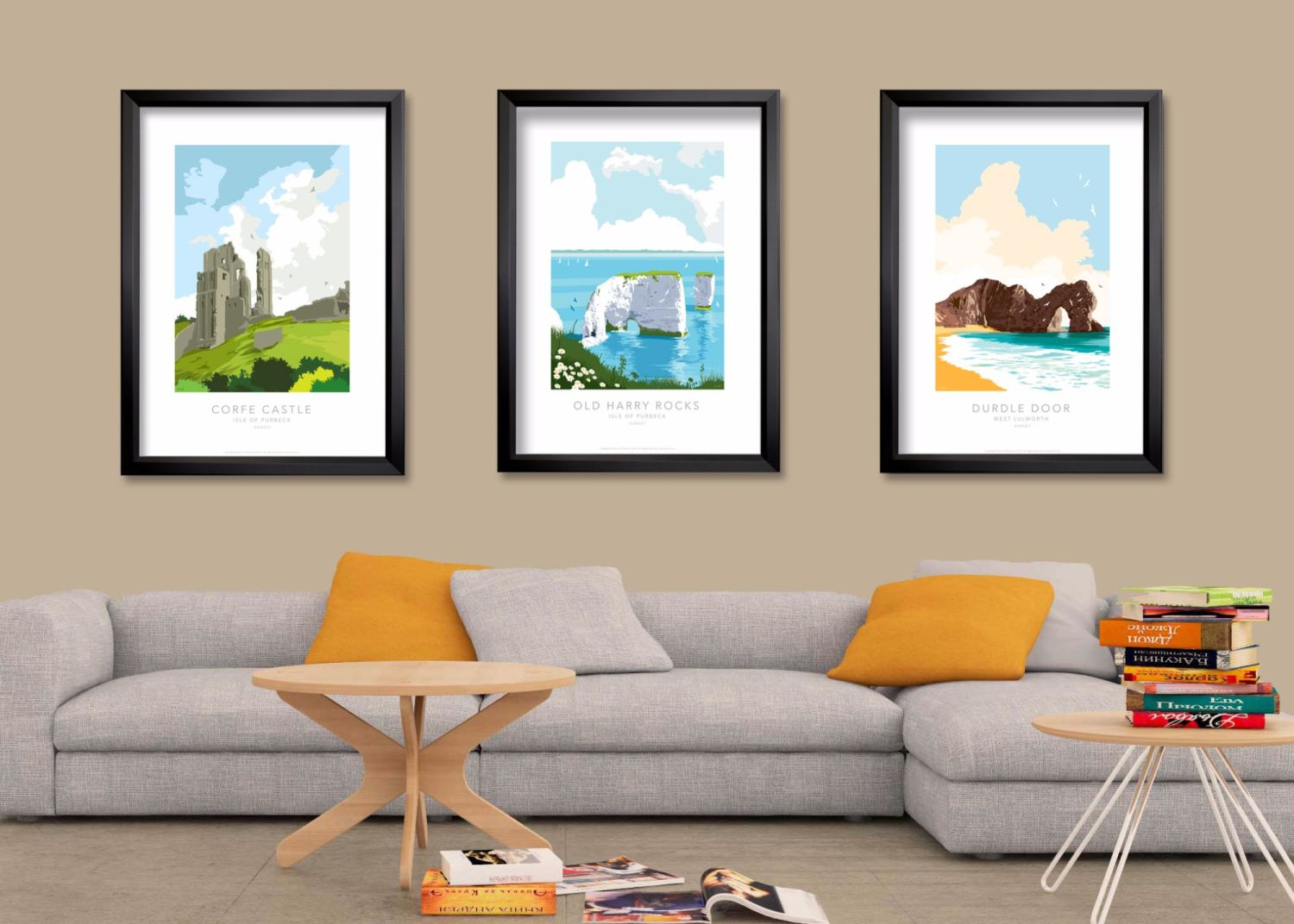 Posters for living room