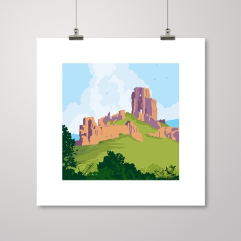 Corfe Castle IV