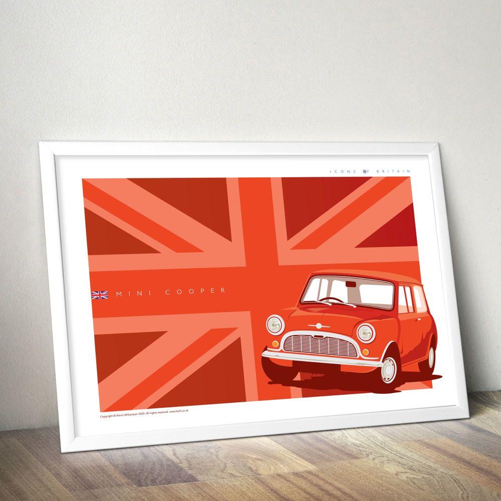 Mini Cooper Red (Union Jack)