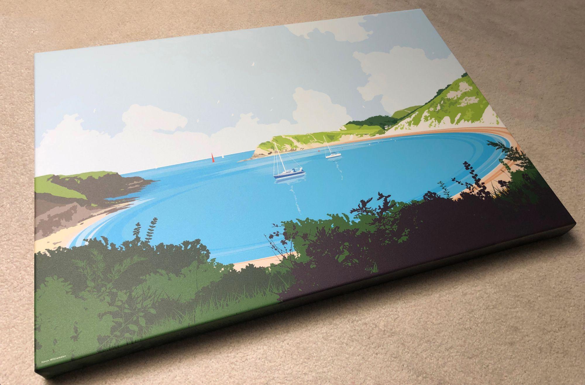 Lulworth Cove dorset print