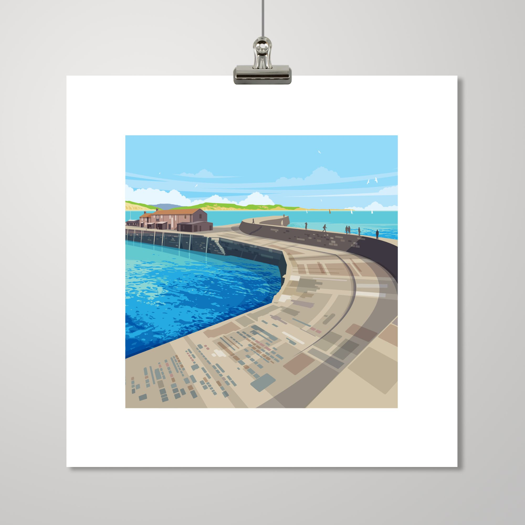 LYME REGIS ILLUSTRATION