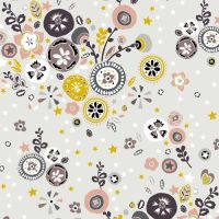 Folk Floral 8948 S15 by Makower