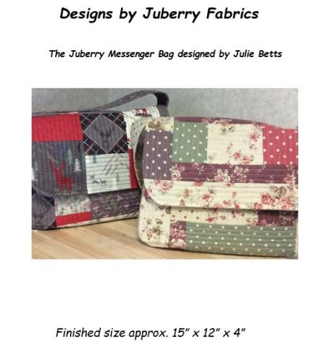 The Juberry Messenger Bag designed by Julie Betts