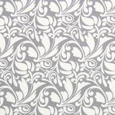 Gutermann Long Island Ring o Roses Grey swirl leaf 647454 0040