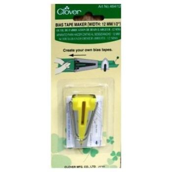 Clover 464/12 Bias Tape Maker 12mm - 1/2""