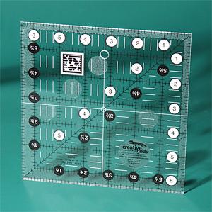 Creative Grids CGR6 Non slip 6½ Inch x 6½ Inch Square
