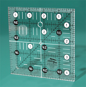 CGR4 Creative Grids  Non slip 4½ Inch x 4½ Inch Square