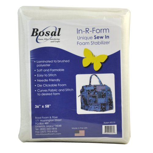 Bosal 492-18 In-R-Form Sew In Foam Stabiliser