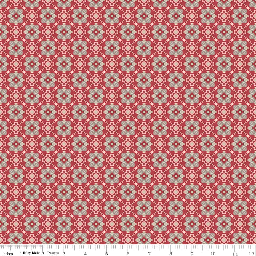Beaujolais from Penny Rose Fabrics RBC5113 RED