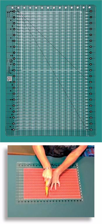 NEW Creative Grids Stripology Ruler By Gudrun Erla
