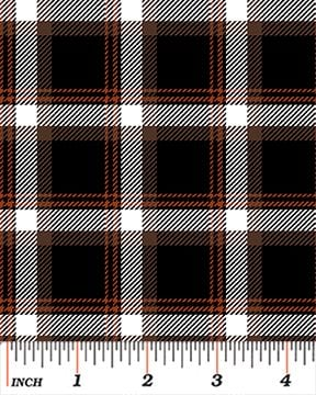 5019-77 Best In Show Classic Plaid 5019 ? 77 Brown