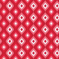 4775-10 Frosty Forest Red Jubilee Geometric