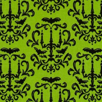 19682-14 Moonlight Manor - Damask in Moss Gree