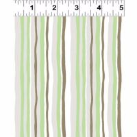 Y2063-23 Woodland Gathering Multi Stripes on Green