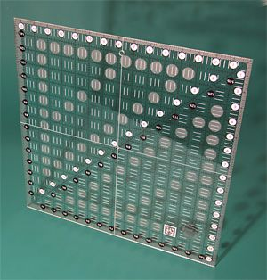 CGR 15 15-1/2 x 15-1/2 non slip ruler