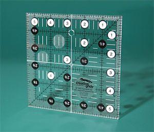 CGR5 Creative Grids  Non slip 5½ Inch x 5½ Inch Square