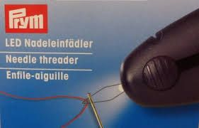 Prym LED Needle threader plum-blue 611125