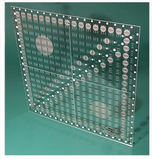 CGR 18 Creative Grids Non slip 18½ Inch x 18½ Inch Square