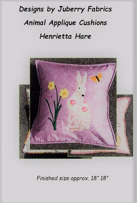 Henrietta Hare by Juberry Fabrics