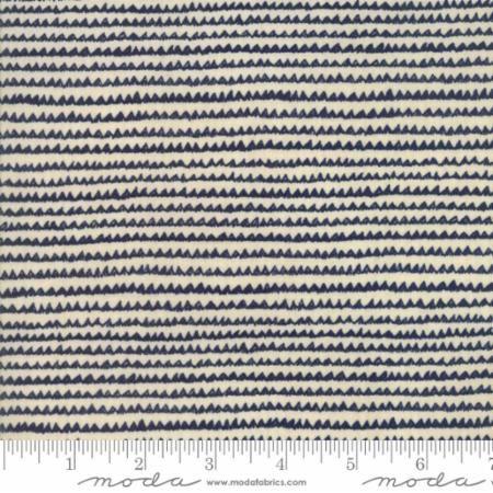 1426-21 Aubade Song To Dawn - Night Dawn Dawn Wavy Stripes Multi