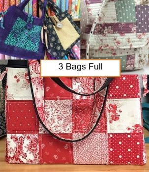 3 Bags Full - Juberry Bag Patterns Combo