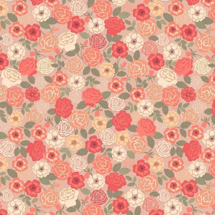 FLO9.3 - Peach Wild Rose