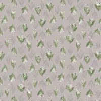 FLO11.4 - Lily Of The Valley On Dove Grey