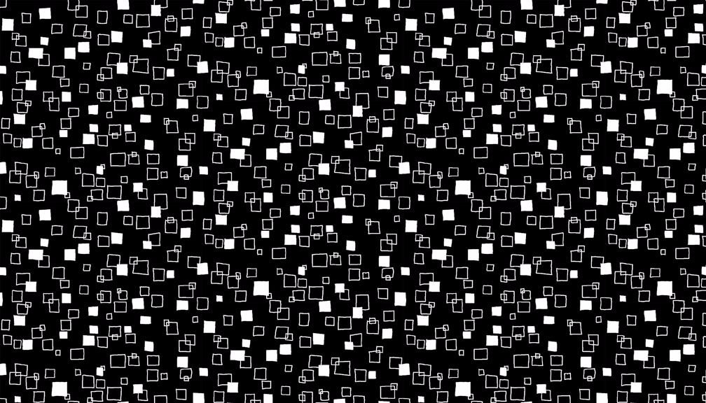 1828X White Squares on Black from the Monochrome Range