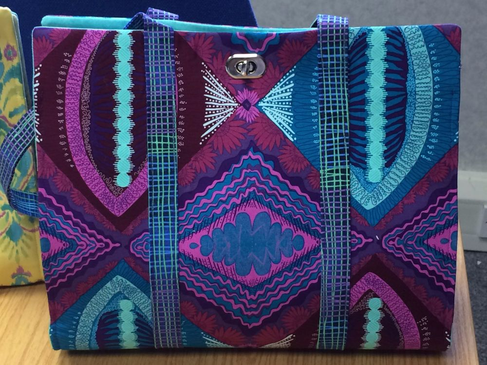 The JAZZIE Bag Pattern designed by Juberry Fabrics
