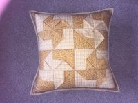 3D Pinwheel Cushion Pattern from Juberry Fabrics