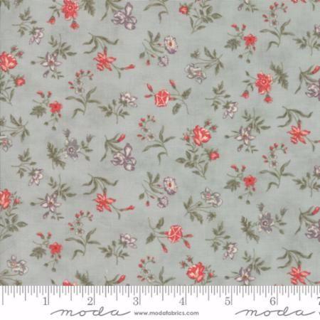 44154-14 Quill Mist Aqua Floral