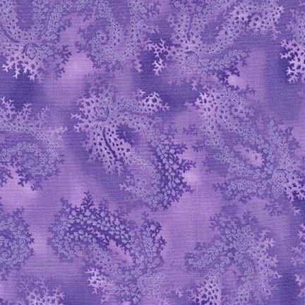 SRK-16484-6 La Scala 7 Fauna on Purple