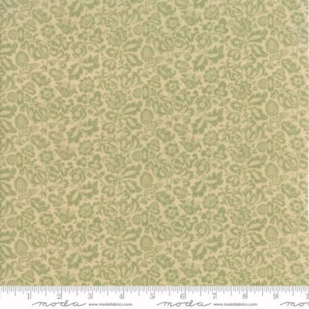 7306-12 Sage Light Green Floral