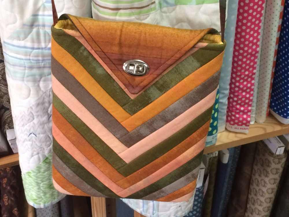 Rainbow Across the Body Bag by Juberry Designs