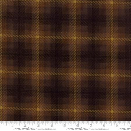 1225-13F Big Bang Plaid Brown Bark