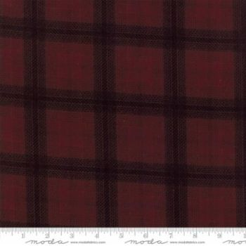 1225-15F Big Bang Plaid Burgundy