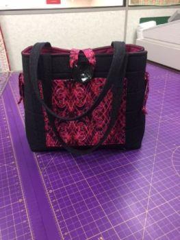 Morris Jewels Bag Pattern designed by Julie Betts