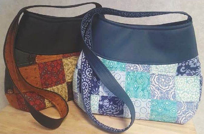 Squares Bag by Juberry Fabrics