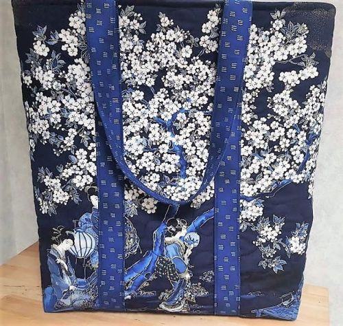 Japanese Tote Bag by Juberry Fabrics