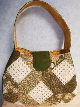Lattice Bag Pattern designed by Juberry Fabrics