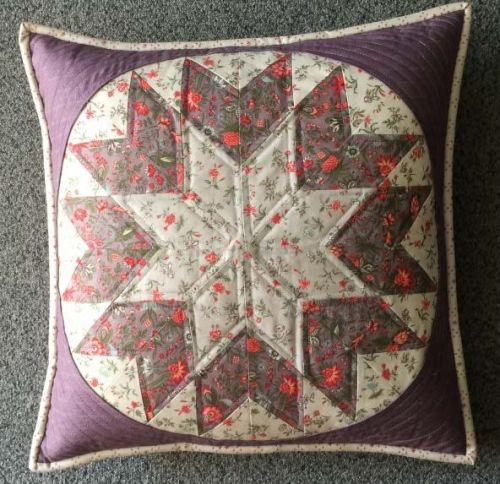 Courtyard Cushion Pattern by Juberry Designs