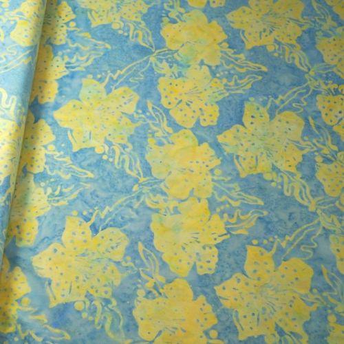 BK145 Col C Batik Palm Leaf Print