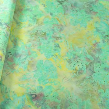 BK145 Col E Batik Palm Leaf Print
