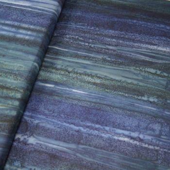 BK148 Col H Bali Batik Two Tone Blue
